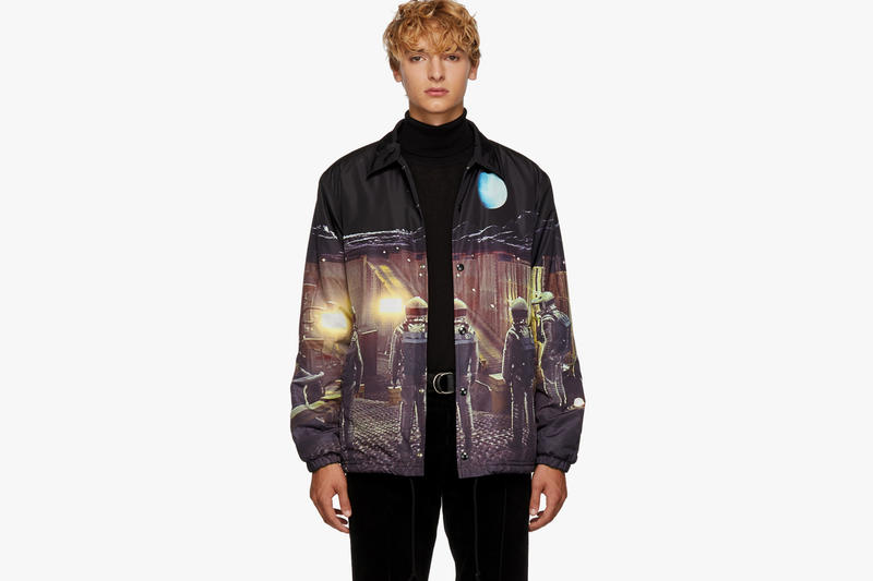 Undercover 2001: A Space Odyssey Canvas Jacket SSENSE 182414M180001