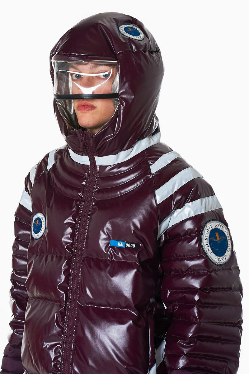 UNDERCOVER Fall Winter 2018 Astronautics Hooded Down Jacket Jun Takahashi space