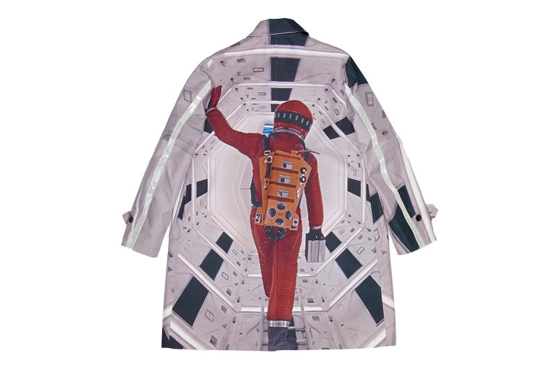 Undercover Gray Astronaut Print Rain Coat Release Details Fashion Clothing Garments Cop Purchase Buy Available Now $1,450.00 USD £1120.00 GBP Idol Brooklyn