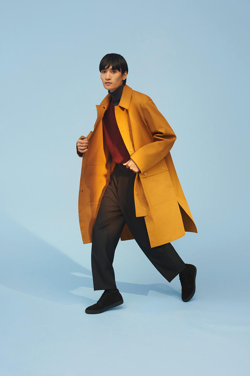 Uniqlo U Fall Winter 2018 Collection Campaign Clothing Fashion Cop Purchase Buy Soon Available Now christophe lemaire