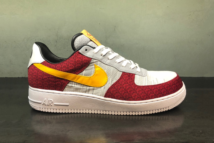 c3f9c4863637 This Custom Nike Air Force 1 Pays Tribute to A AP Mob   A.S. Roma