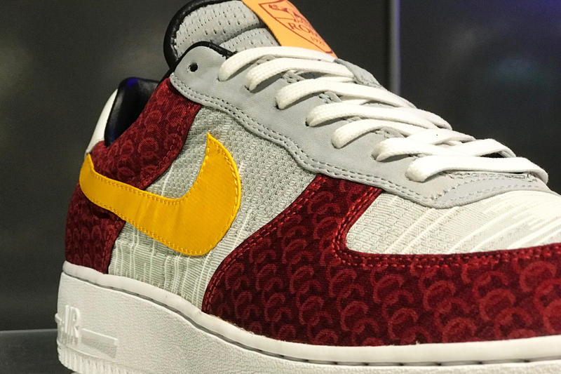 Fancy as roma rich franklin Nike Air Jordan 1 Max Force Custom With ASAP Mob preview sneaker custom event unique sneaker shoe official first look