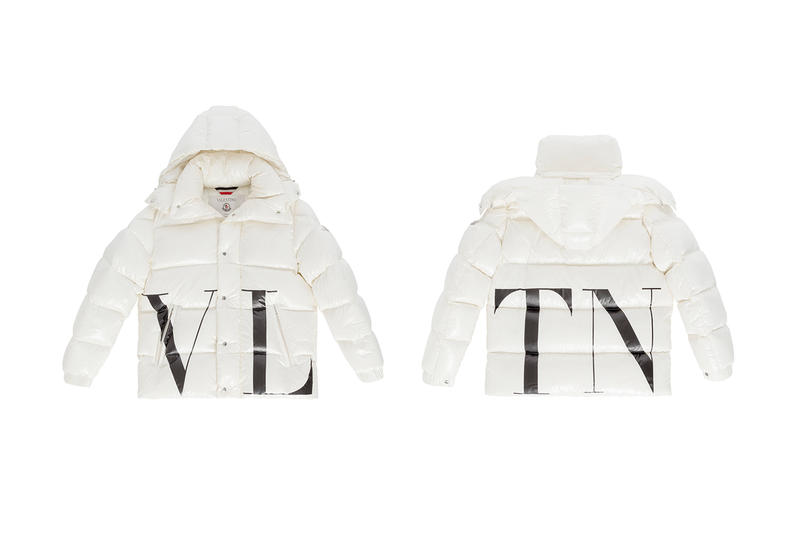 Valentino Moncler Fall Winter 2018 Quilted Down Jackets release info collaborations