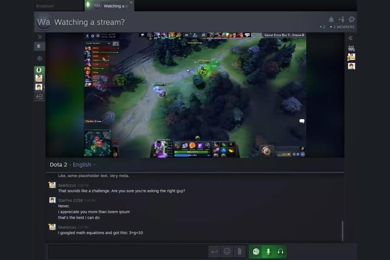 valve steam.tv steam gaming streamer platform stream dota the international