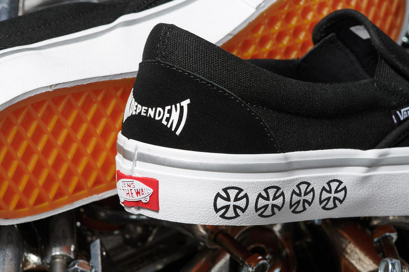 independent truck co vans collaboration capsule apparel footwear skate skateboarding streetwear style fashion