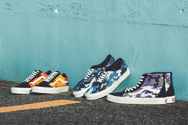 Vans Pop Camo Pack Group Photo
