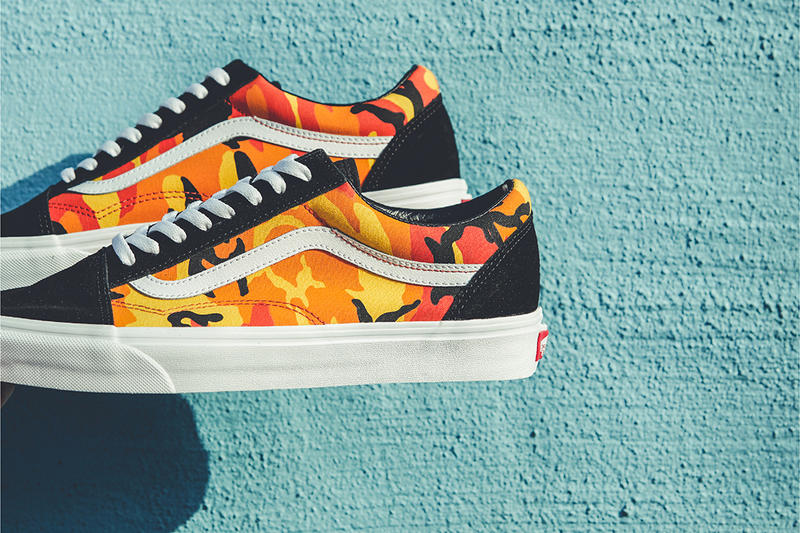 Vans Billy's Ent Yellow Pop Camo Pack Old Skool
