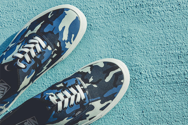 Vans Billy's Ent Blue Pop Camo Pack Authentic