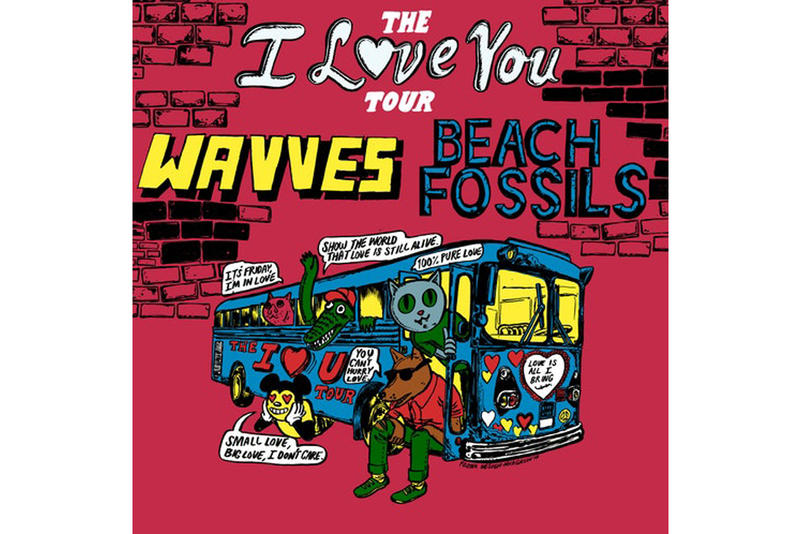 Wavves Beach Fossils Joint Tour