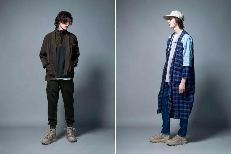 Whiz Limited 2018 Fall Winter collection Lookbook Japanese streetwear fashion jackets clothing sweaters hats sports tracksuits track pants track jackets comfort casual wear sporting