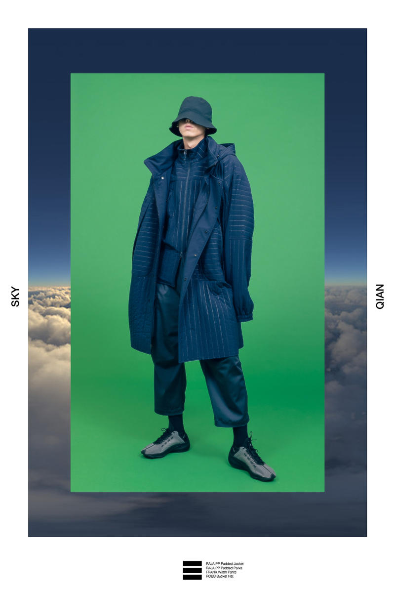 wisdom fall winter 2018 lookbook collection techwear china chinese INTERSTELLAR FRONTLINE bagua technical clothing
