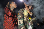 """Wiz Khalifa and Travis Scott Join Forces for """"Trippin'"""""""