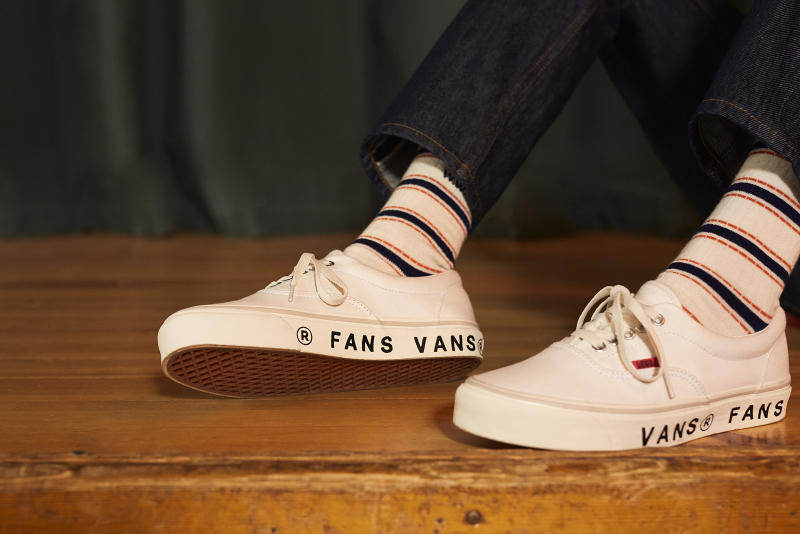 Wood Wood x Vans 2018 Collection Cop Purchase Buy Shoes Sneakers Trainers Kicks Footwear Collab Collaboration Era FANS White Off-White Copenhagen Danish Fashion