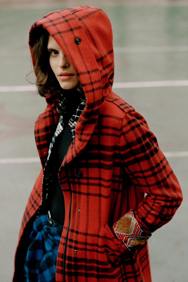 Woolrich Fall/Winter 2018 Campaign Clothing Fashion Cop Purchase Buy Onyx Collective Raphaelle Zarina Nares Lauryn Hill Parka Outerwear Jacket Coat