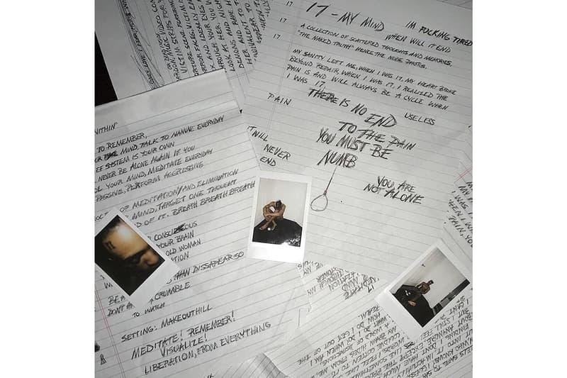 XXXTentacion Stream  '17' Debut Album