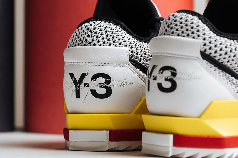 Y-3's Harigane White Lush Red release info adidas sneakers yellow