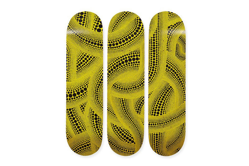 yayoi kusama MoMa museum of modern art dot obsession yellow trees artwork polka spot october 2018 drop release date info purchase sell sale price