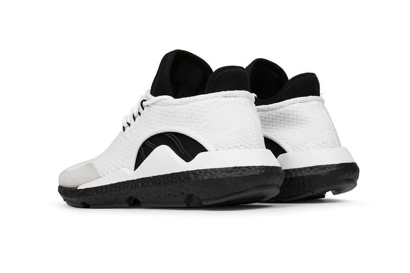 "Y-3 Saikou ""Core White"" Available Now sneaker release date adidas yohji yamamoto price colorway black white"