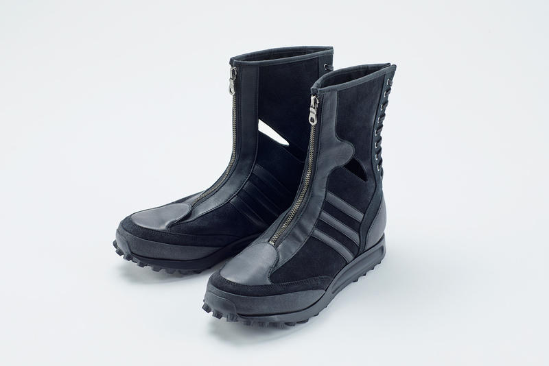 bd58b4b93 Yohji Yamamoto adidas sneaker Trail Boot Y-3 Yohji Yamamoto Japan fashion  designer boots hiking