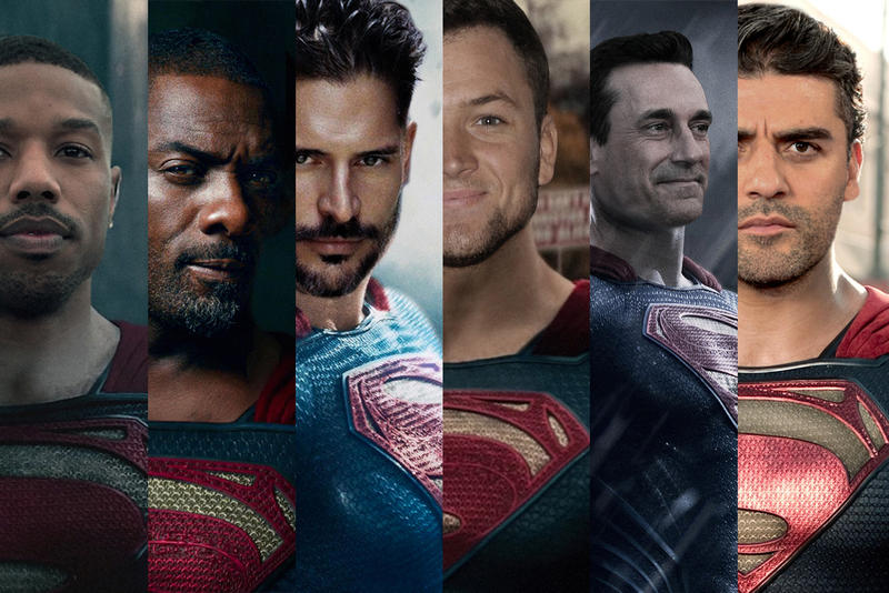 Henry Cavill Superman Warner Bros. Man of Steel DC Comics DC Universe DCEU Worlds of DC Michael B. Jordan Jon Hamm Idris Elba Taron Egerton Oscar Isaac Joe Manganiello THR