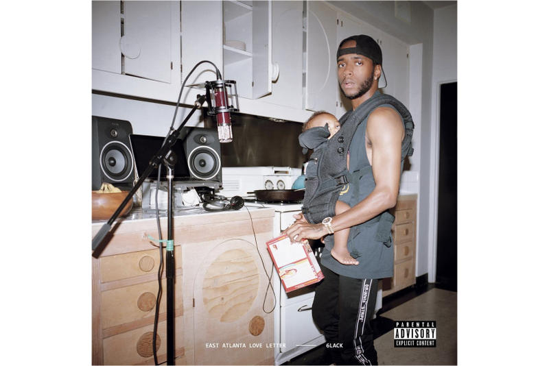 6lack 'East Atlanta Love Letter' Album Stream Apple Music Spotify Listen Available Now Offset J. Cole Khalid Future
