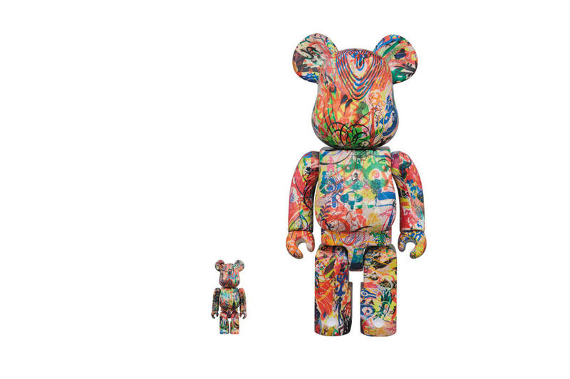 Ryan McGinness Medicom Toy Bearbrick Release Figures Toys Art Paintings Japan Tokyo NanZuka Gallery MOMA Collectibles warhol flower icons The Lazy Logic of Ignava Ratio september 15 2018 release date info buy