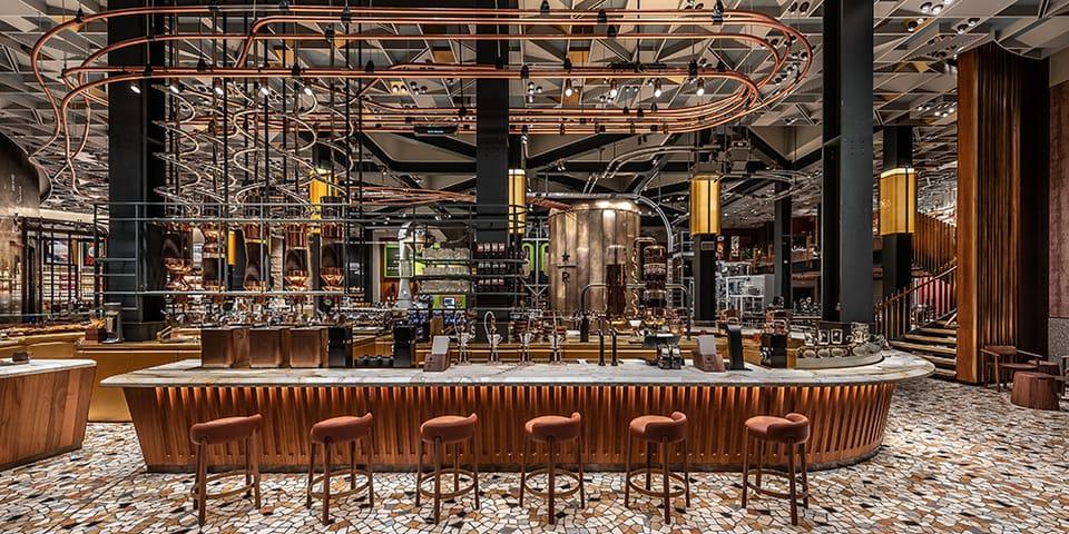Starbucks Opens Reserve Roastery in Milan, Italy