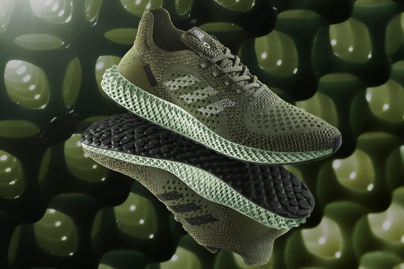 footpatrol adidas consortium futurecraft 4d carbon green london design festival ben cullen williams footwear sneakers trainers silhouette release information details