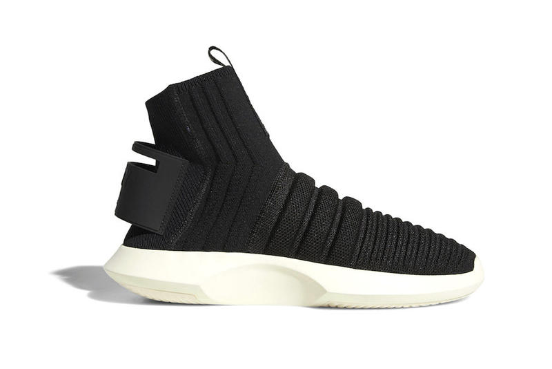 ced8944c873 adidas crazy 1 adv primeknit sock core black white 2018 october footwear