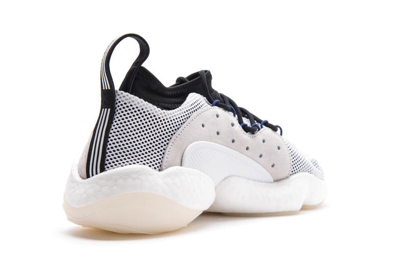 adidas Crazy BYW LVL 2 White Black fall 2018 release sneakers