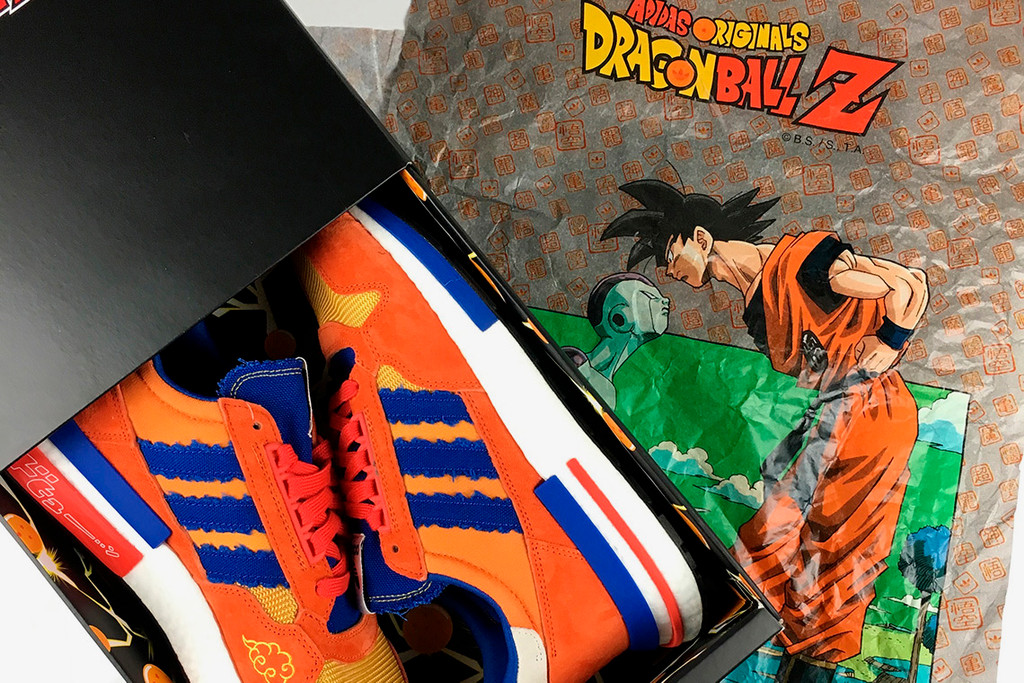 new style 50c53 794e5 Dragon Ball Z x adidas ZX 500 RM Goku Unboxing Video  HYPEBE