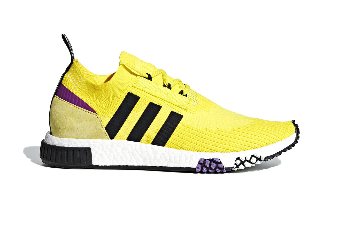 adidas NMD Racer in Lakers Colors