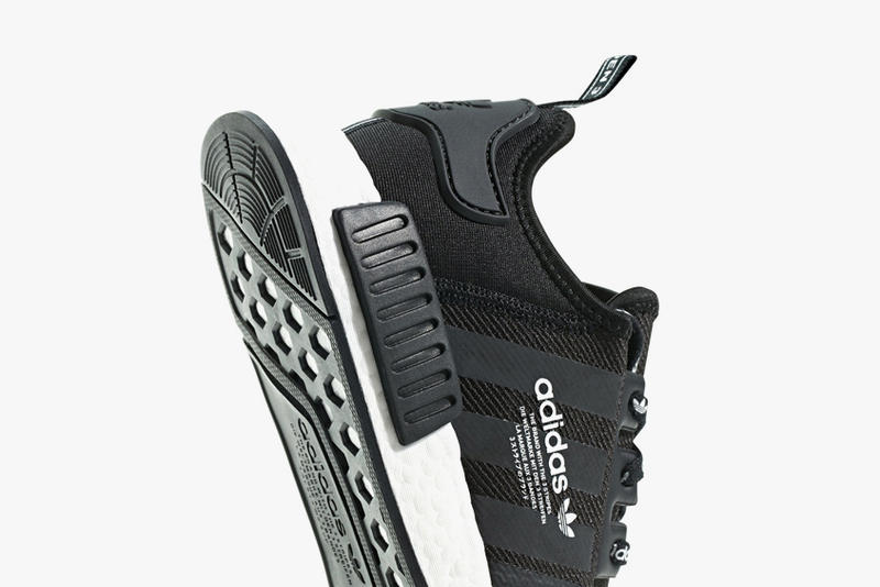 "adidas NMD R1 ""Black/White Branding"" Release date sneaker 2018"