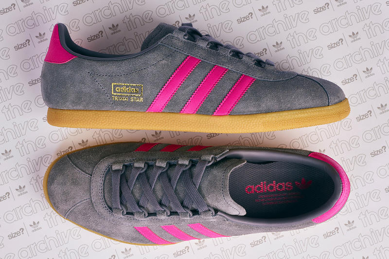 adidas Originals Archive Trimm Star Grey-Magenta size  Exclusive Shoes  Kicks Trainers Sneakers Footwear 1837a7a94