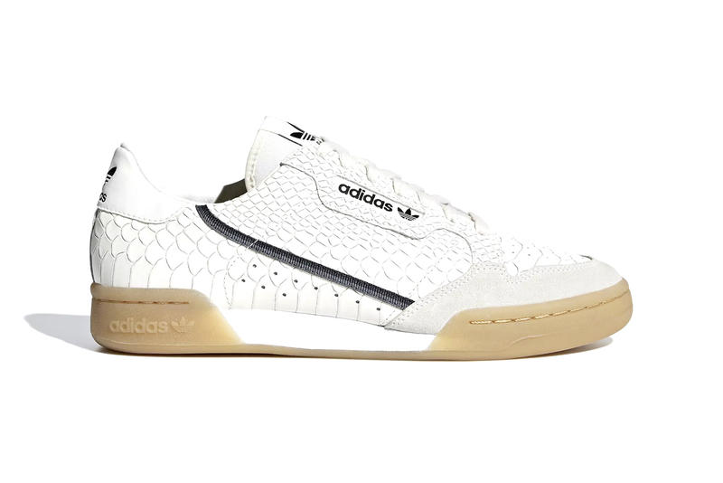 separation shoes 1994c ebf86 adidas Originals Continental 80 Rascal Snakeskin Black White Faux Leather  Luxe Upgrade YEEZY Powerphase sneaker footwear