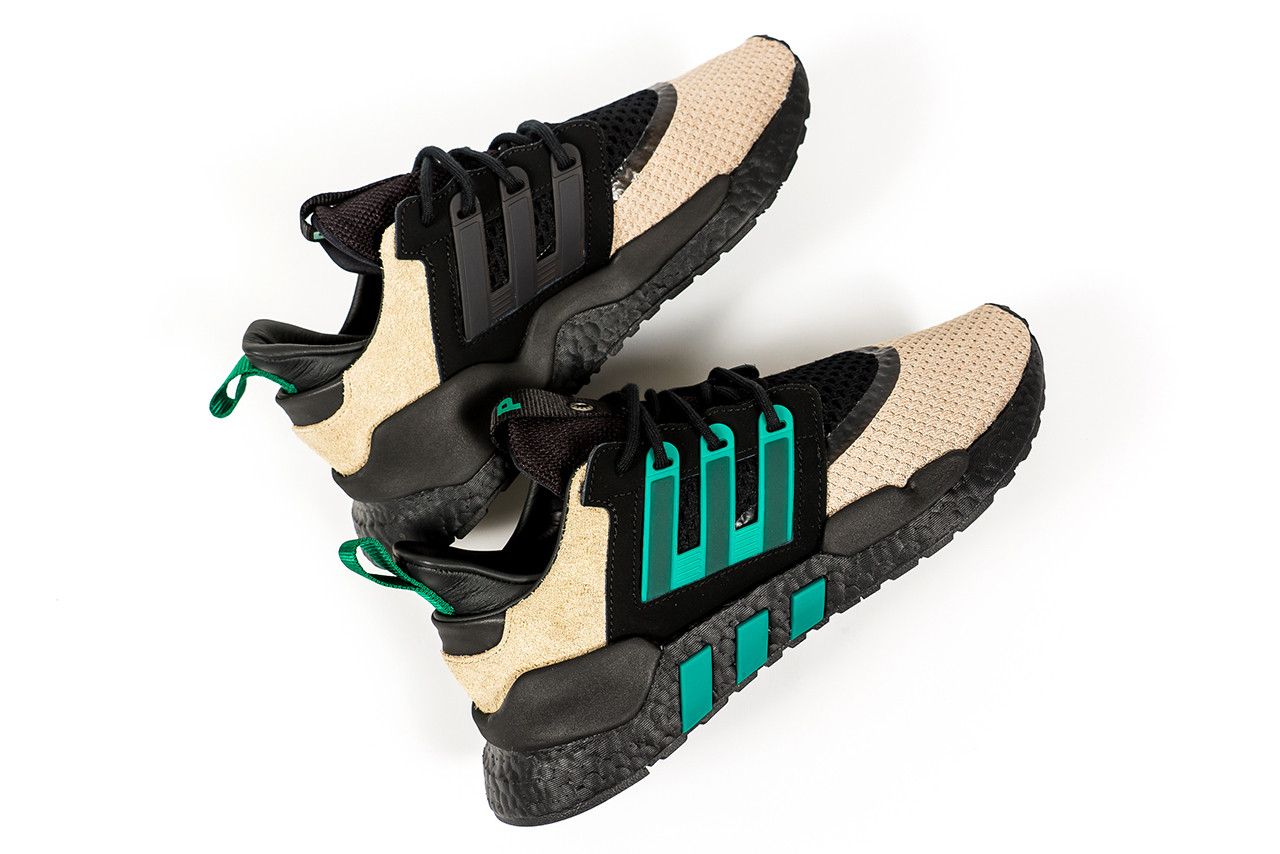 adidas Originals Consortium Packer 2018 Collab Shoe Details Shoes Trainers Kicks Sneakers Footwear Cop Purchase Buy Available October 6 6th Fall Color EQT Update 91/18 Silhouette