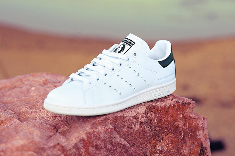 adidas Originals Stella McCartney Vegetarian Sustainable Faux Leather  Leather-Free Stan Smith Sneaker Release Information e3cb191577469