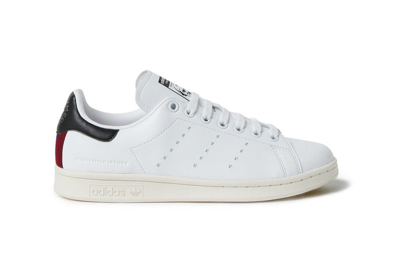 adidas Originals Stella McCartney Vegetarian Sustainable Faux Leather Leather-Free Stan Smith Sneaker Release Information Details First Look