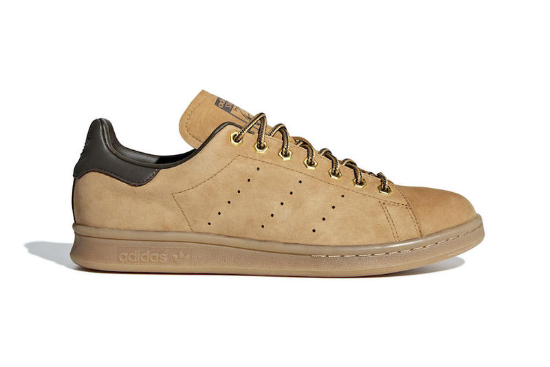 adidas Stan Smith Wheat release info mesa umber gum sneakers