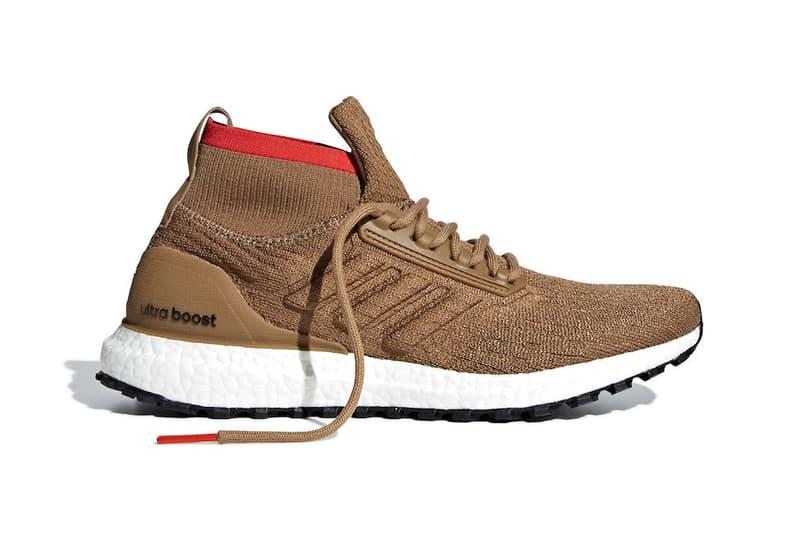 8776d8c479fd adidas UltraBOOST ATR Raw mid Desert Release Date white brown orange tan  price sneaker purchase