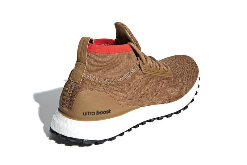 adidas UltraBOOST ATR Raw mid Desert Release Date white brown orange tan price sneaker purchase