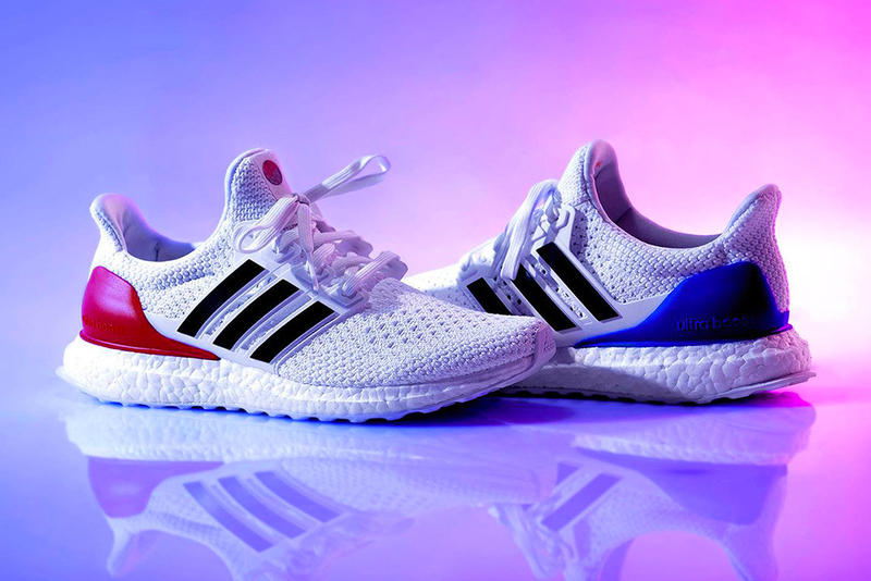 424835500 adidas UltraBOOST Seoul Olympics Limited Edition September 2018 Primeknit  south korea white blue red