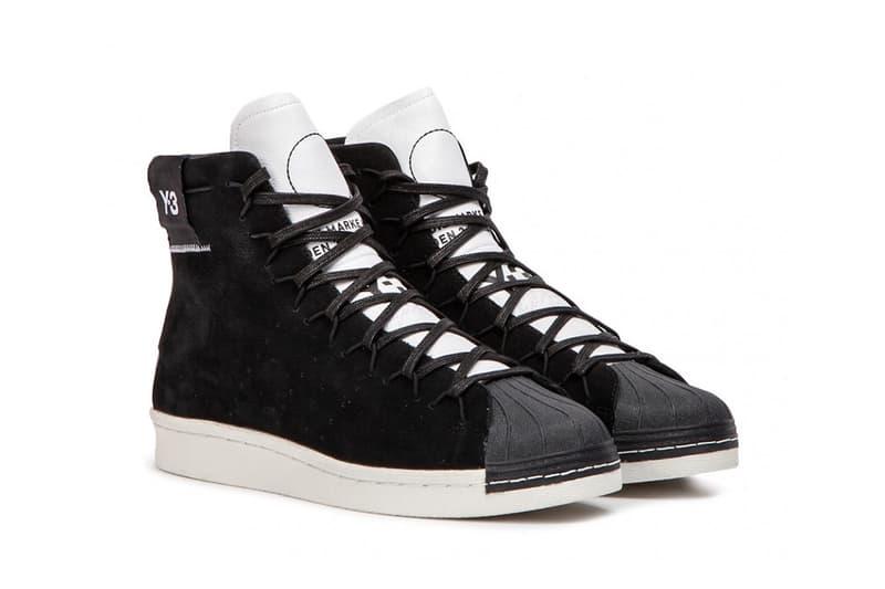 adidas y-3 super high black white 2018 september footwear