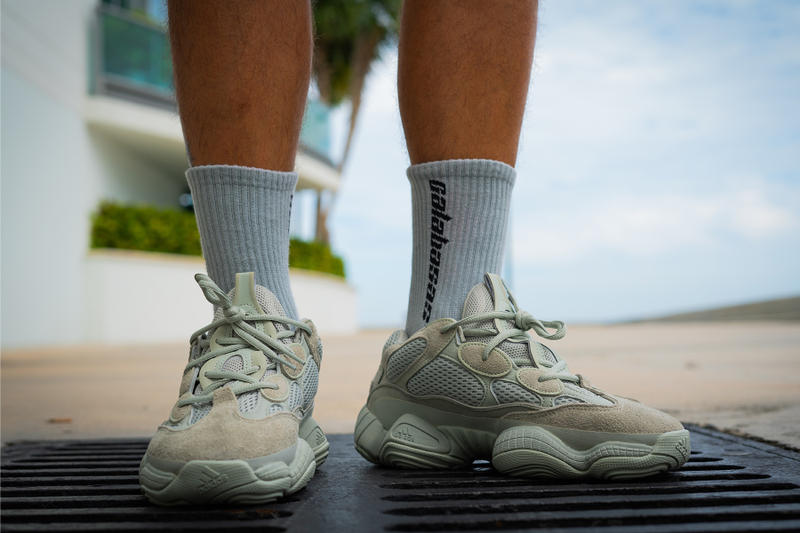 adidas yeezy 500 salt on foot kanye west adidas originals footwear 2018