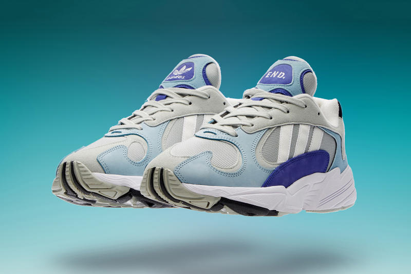 Clothing adidas Yung-1 Atmosphere Release Info Grey Blue Purple Chunky  Runner 1990s 8ed96894b