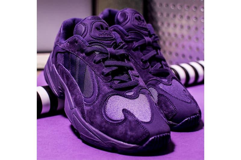 adidas Yung-1 Triple Purple release info sneakers monochromatic