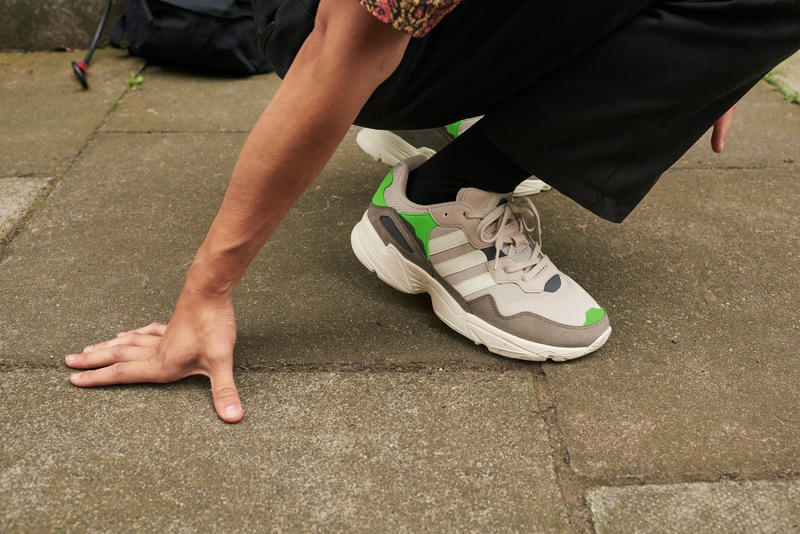 pretty nice 04bf2 daa66 adidas yung 96 2018 september footwear Black Yellow White Orange Grey Green  sneakers shoes