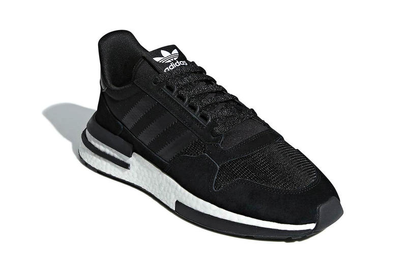 adidas ZX 500 RM Core Black Core White fall 2018 release sneakers leather suede