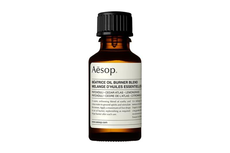 Aesop Brass Béatrice Oil Burner Blend Release Details Skincare Brand Natural Studio Henry Wilson