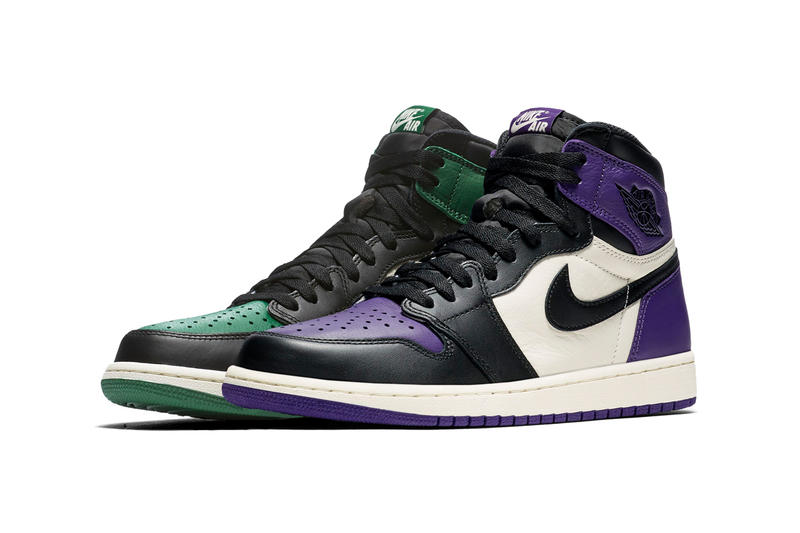 13f9fada Air Jordan 1 Retro High Court Purple StockX basketball sneakers michael  detroit black white brand sports